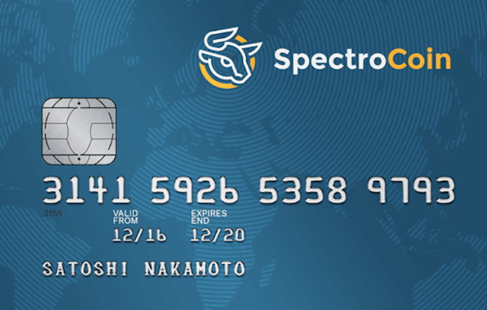 spectrocoin card