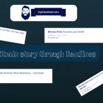 Bitcoin story through Headlines (1)