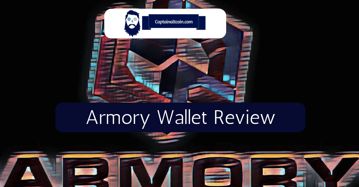 Armory Bitcoin Wallet Captainaltcoin