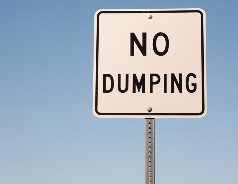 no dumping crypto
