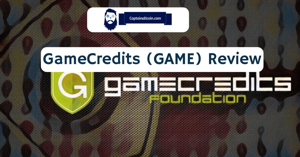 GameCredits (GAME) Review