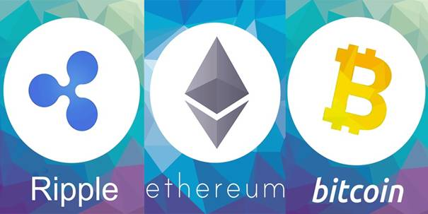 Ripple vs. Ethereum vs. Bitcoin