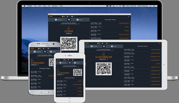 Jaxx user interface