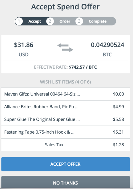 BTC exchange
