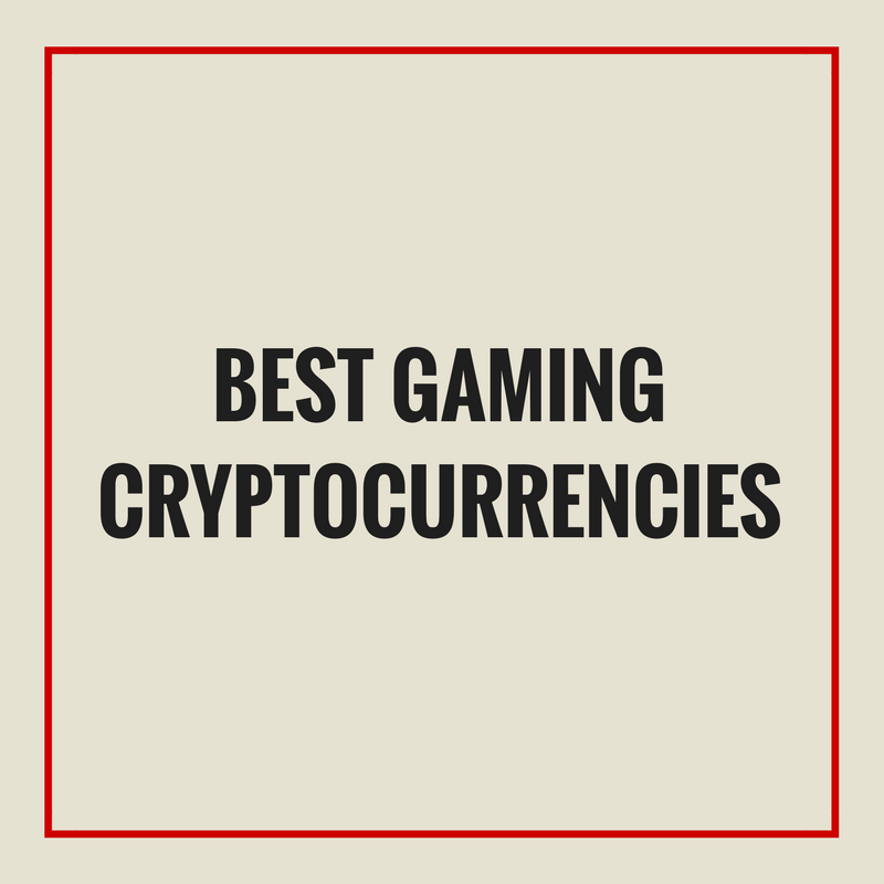 best gaming cryptocurrencies