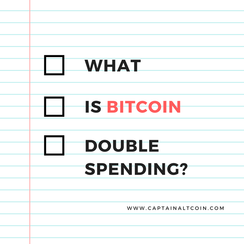 bitcoin double spending