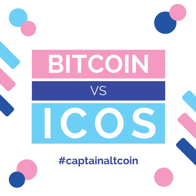 bitcoin vs icos