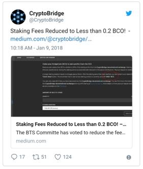 staking BCO