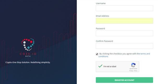 COSS.io Signup