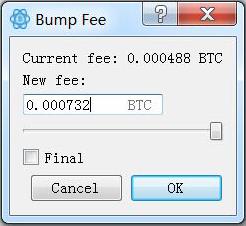 Bump Fee
