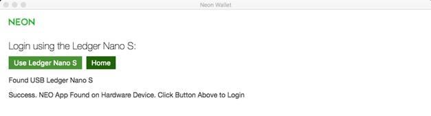 NEON client