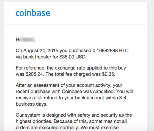 public trust in Coinbase