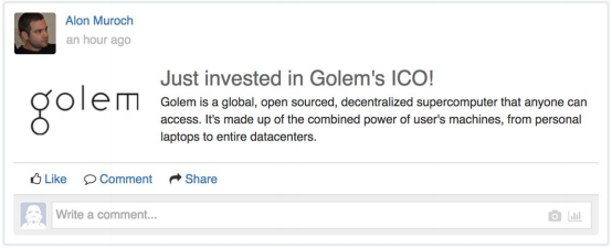 Golem ICO