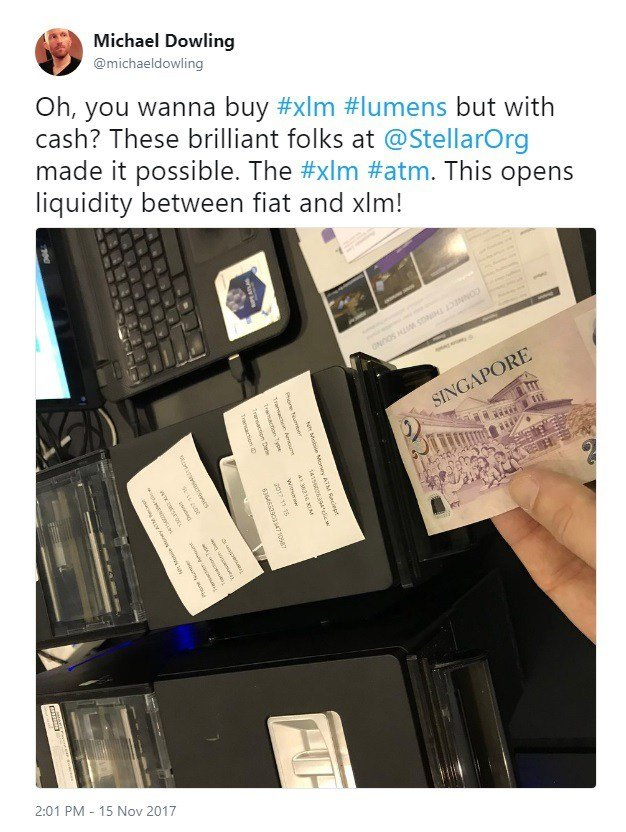 XLM ATMs