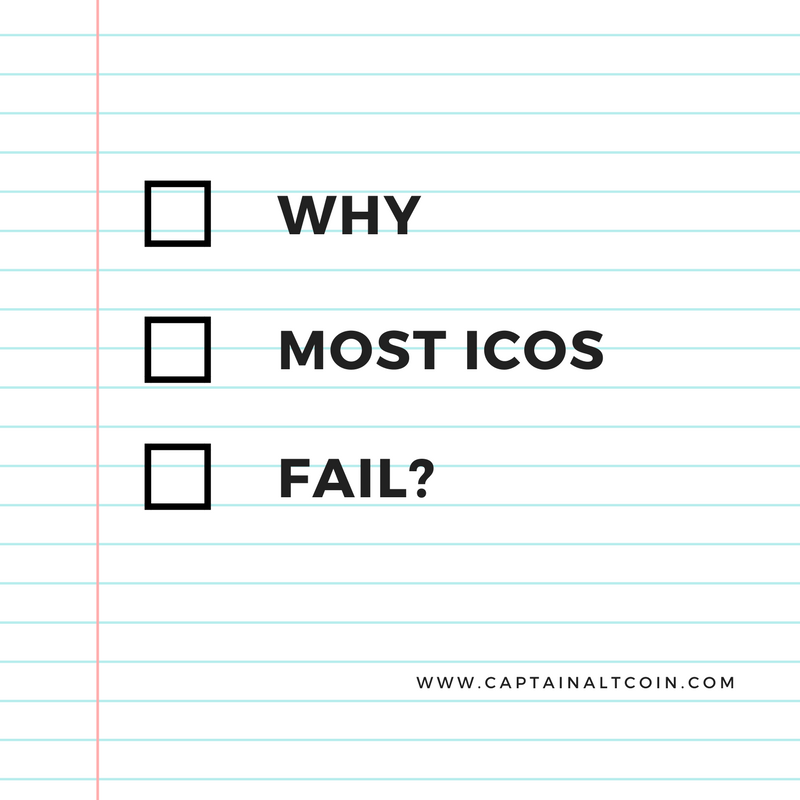why most icos fail