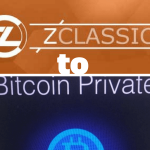 zclassic to bitcoin private