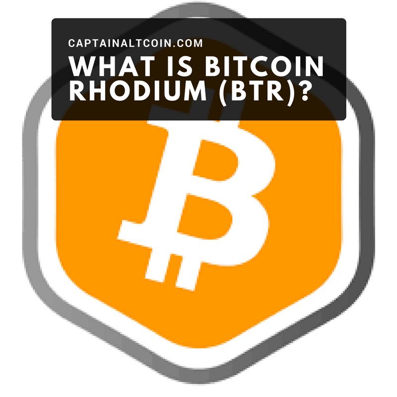 WHAT IS BITCOIN RHODIUM (BTR)_