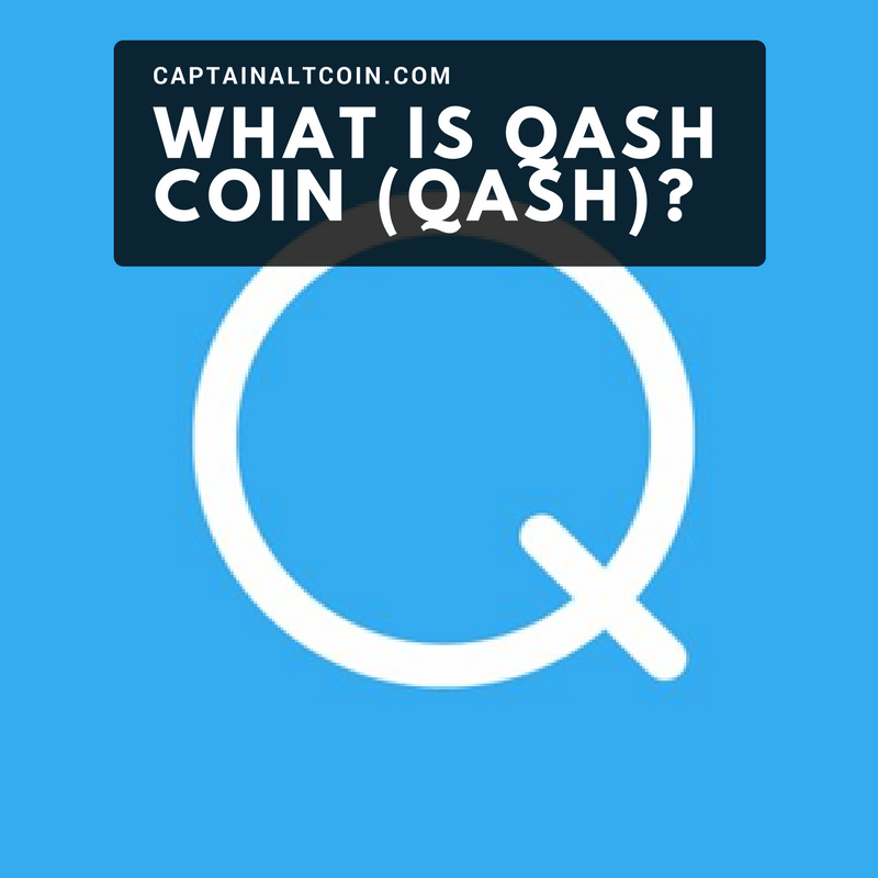 WHAT IS QASH COIN (QASH)_