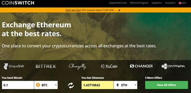 CoinSwitch Platform