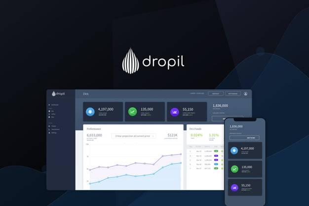 Dropil lending platform