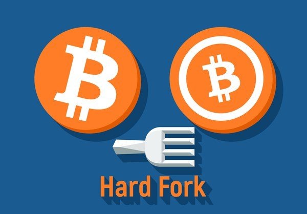 hard fork and an altcoin