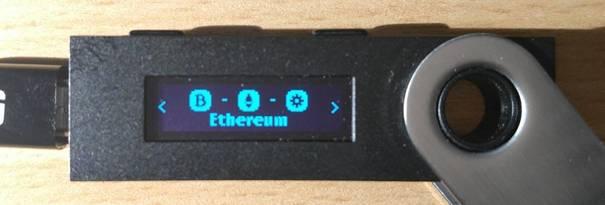 Ethereum application
