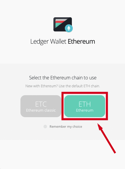 choose Ethereum