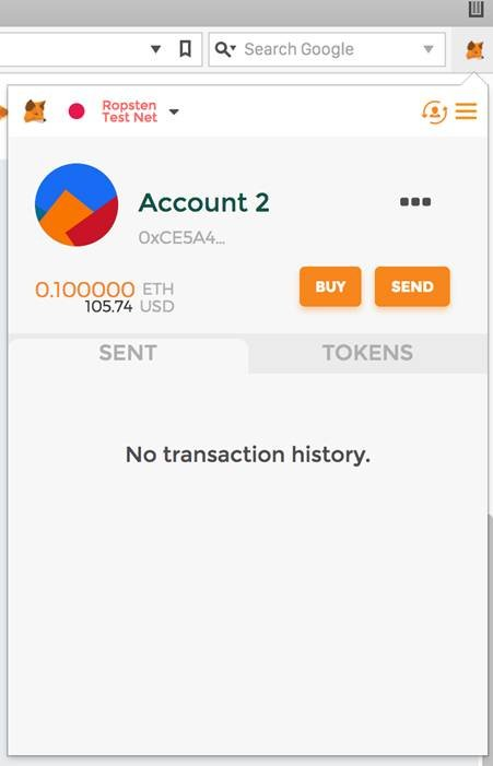 MetaMask receiving funds