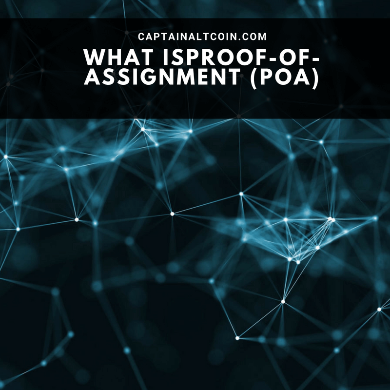 Proof-of-Assignment (PoA)