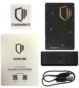 CoolWalletS_box content