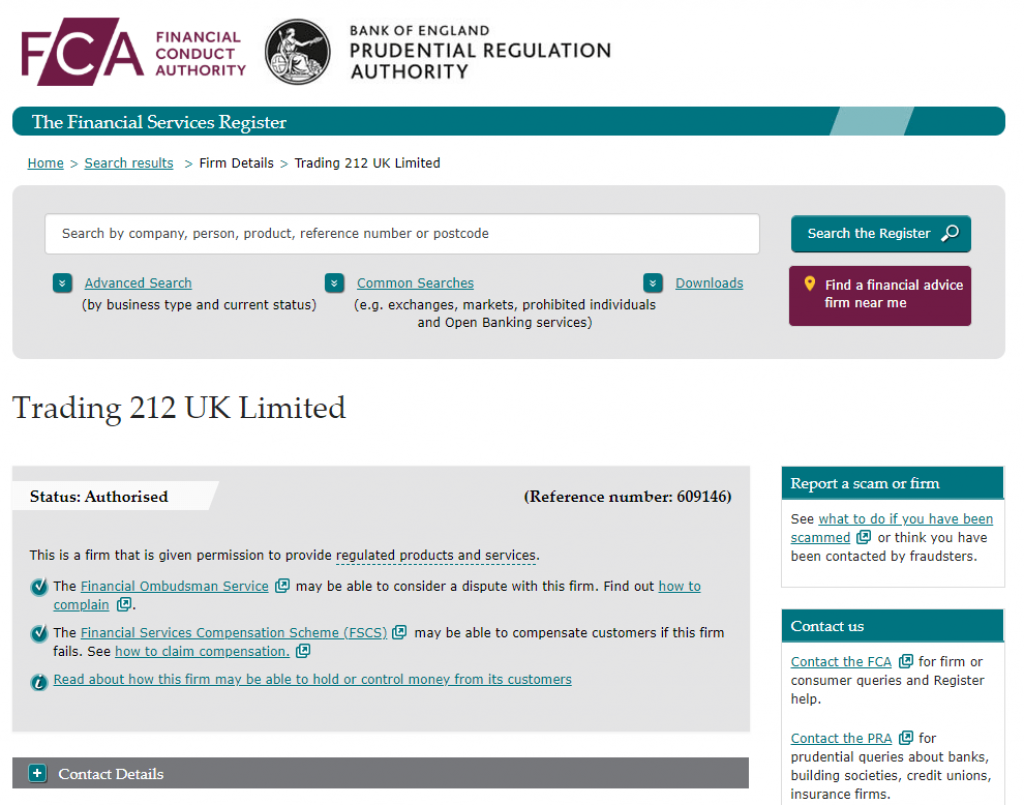 Trading 212 UK Regulation