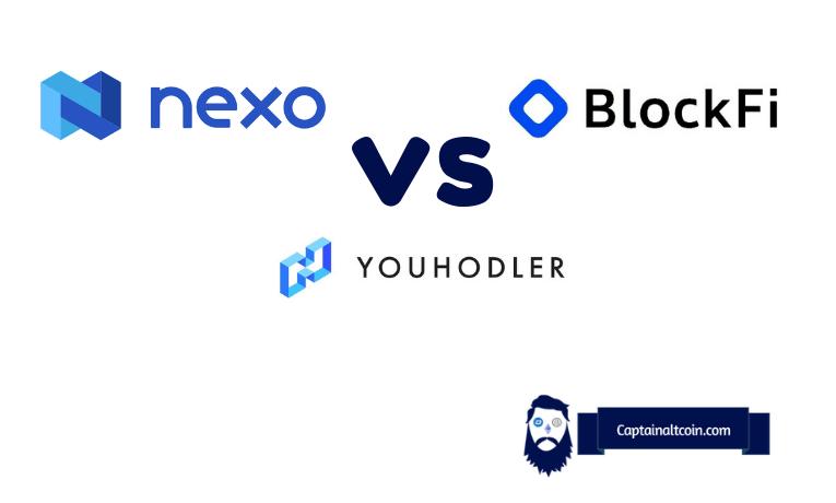 blockfi vs nexo vs youhodler