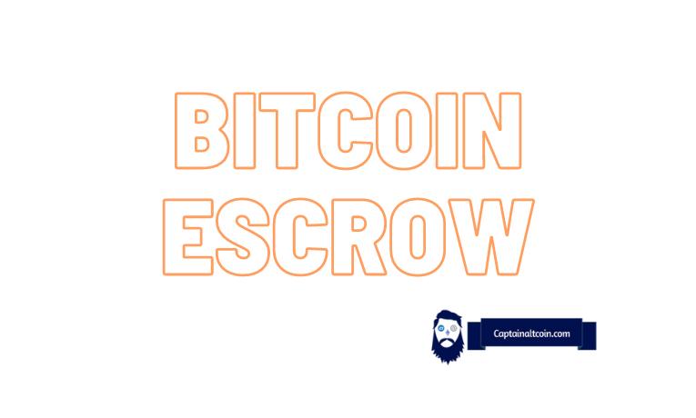 bitcoin escrow system)