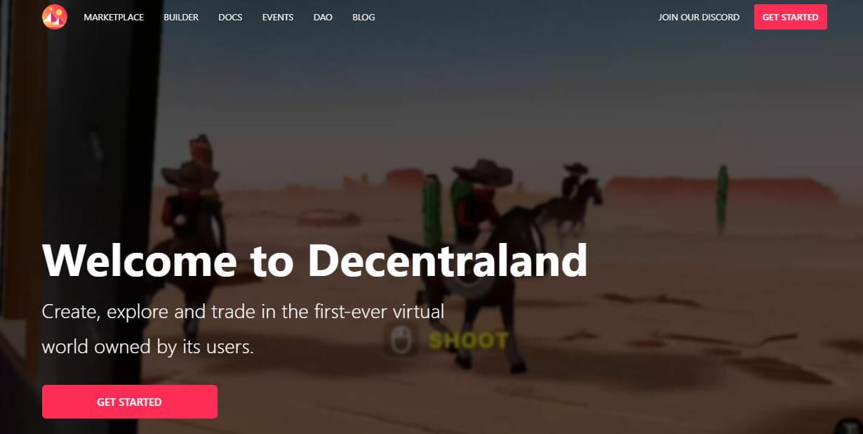 NFT Projects Decentraland