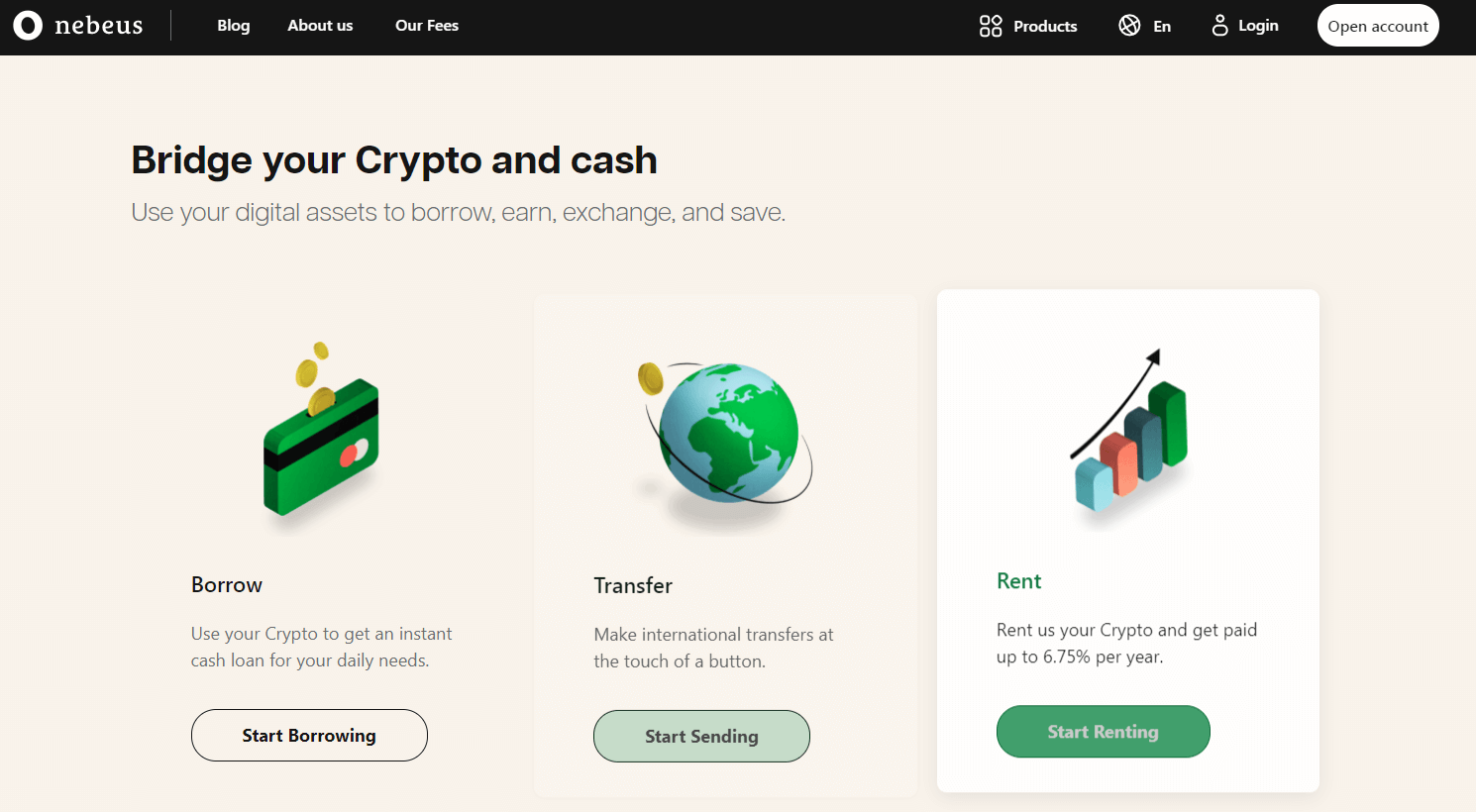 Nebeus Website
