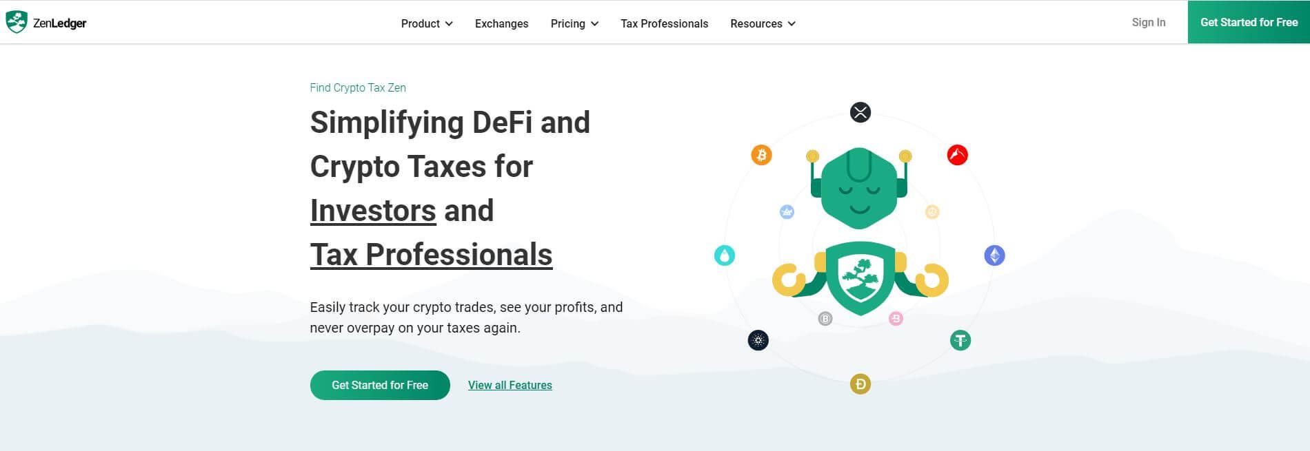 ZenLedger Tax Tool