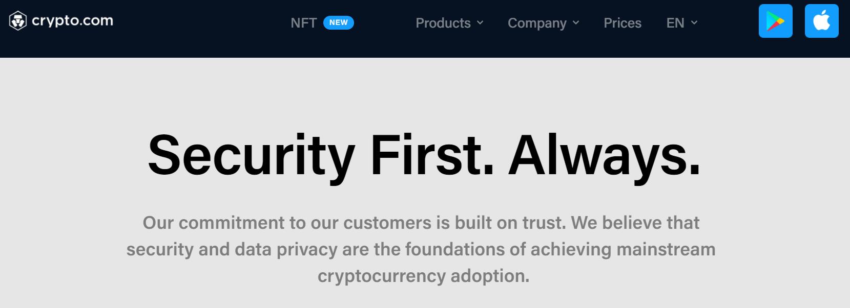Crypto.com Security