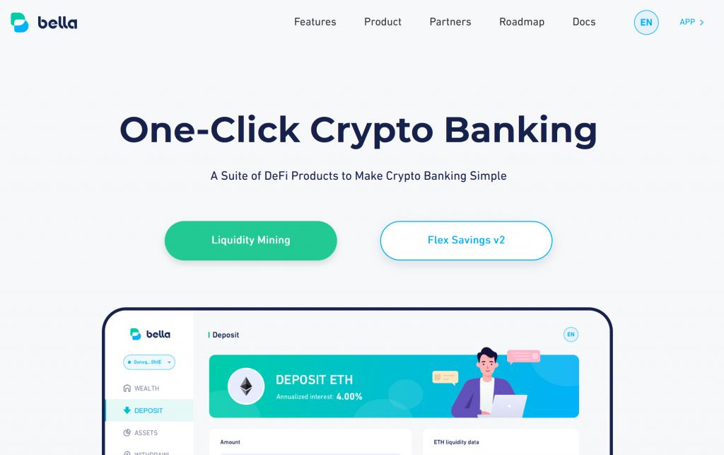 Bella protocol homepage