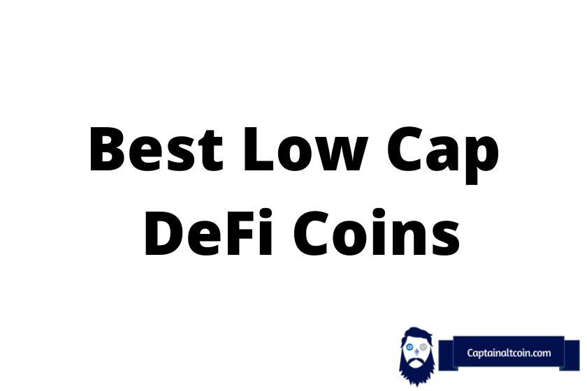 Best LowCap Defi Coins