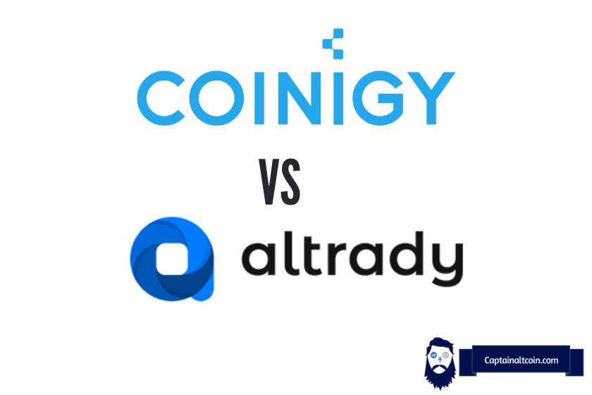 Coinigy vs Altrady