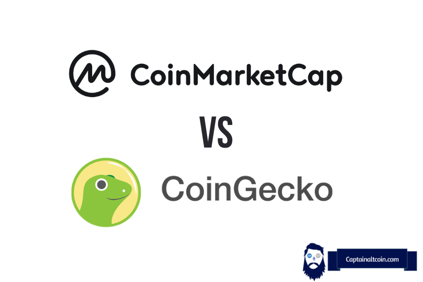 Coinmarket vs Coingecko