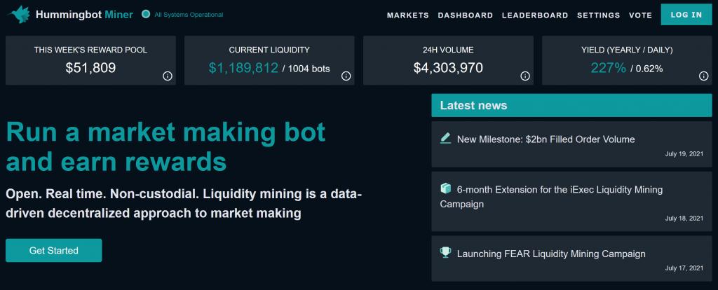 Hummingbot Miner
