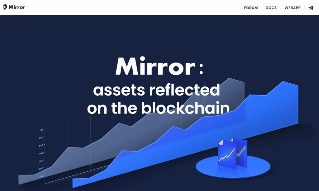 Mirror Finance Website