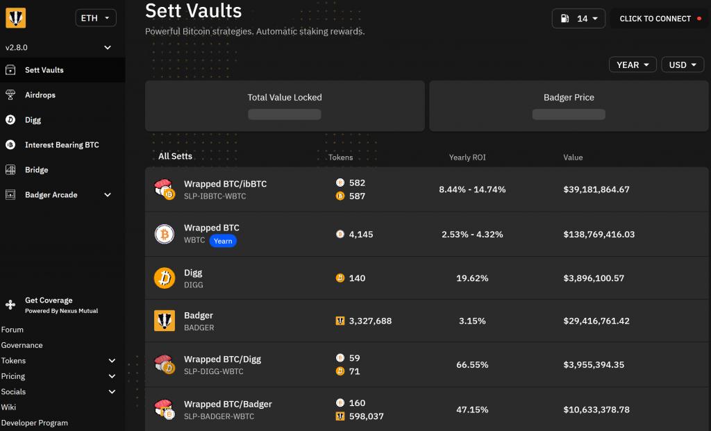 app finance badger dashboard