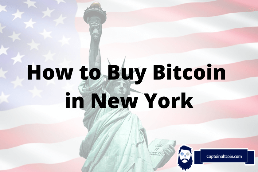 How To Buy Bitcoin In NYC – Top Crypto Exchanges In New York