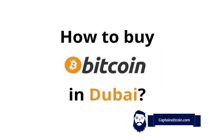 how to buy bitcoin in Dubai