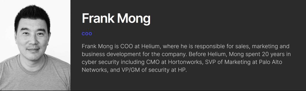 Frank Mong Helium